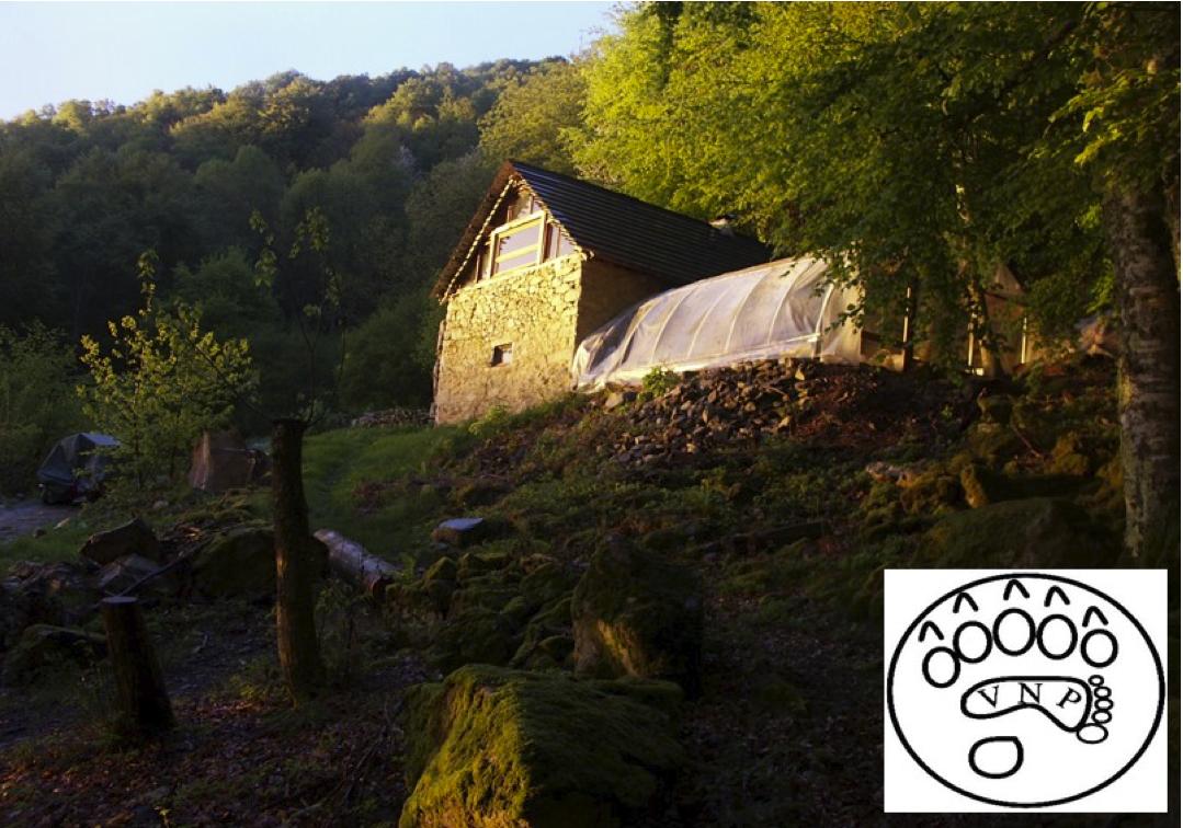 Cabane de trappeur dans les Pyrénées